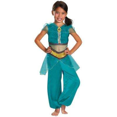 Girls Disney Jasmine Sparkle Classic Costume