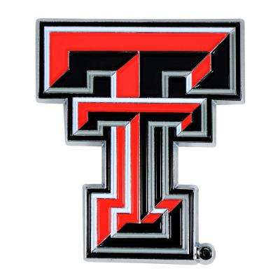 2.7 in. x 3.2 in. NCAA Texas Tech University Color Emblem