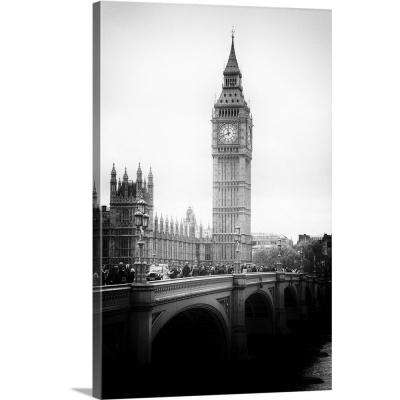 """""""View of Big Ben from across the Westminster Bridge, London"""" by Philippe Hugonnard Canvas Wall Art"""