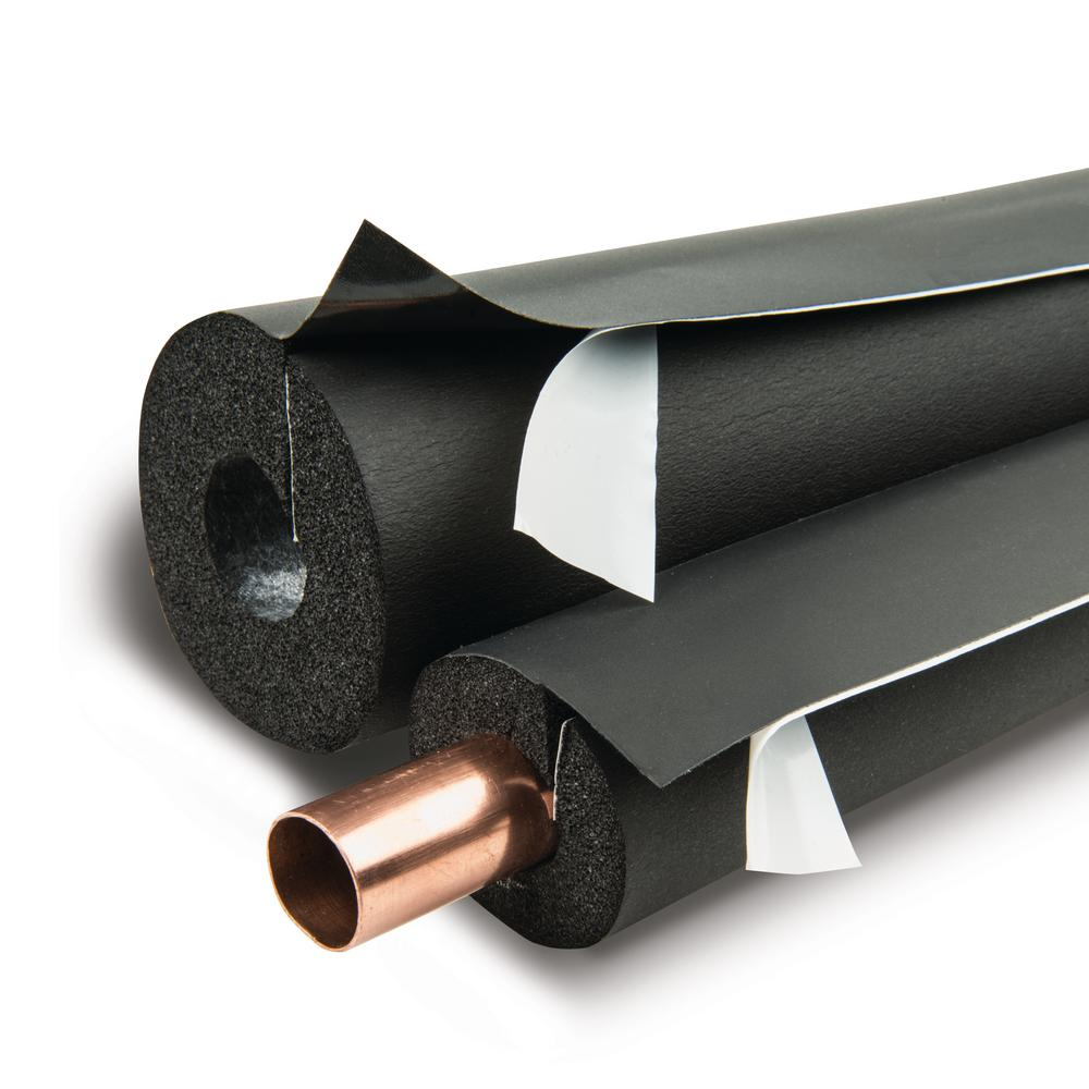 Lap Self-Seal 1-1/8 in. x 3/4 in. Pipe Insulation - 90