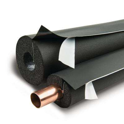 Lap Self-Seal 3 in. ID x 2 in. Wall x 6 ft. long Rubber Pipe Insulation - 12 Lin. ft./Carton
