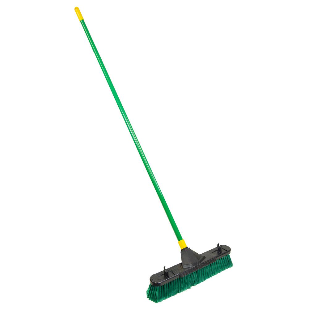 Bulldozer 24 in. Indoor/Outdoor Pushbroom