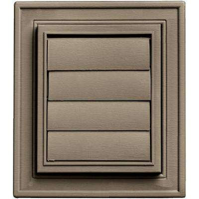 Square Exhaust Siding Vent #095-Clay