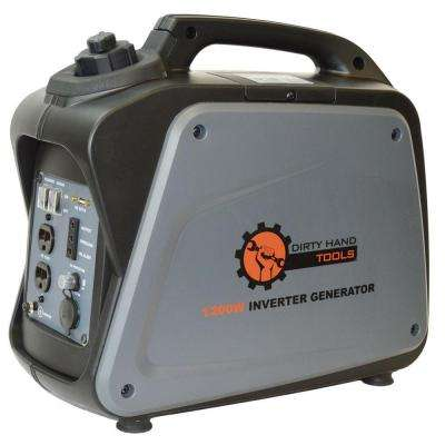 1000-Watt Gasoline Powered Portable Generator with Digital Inverter