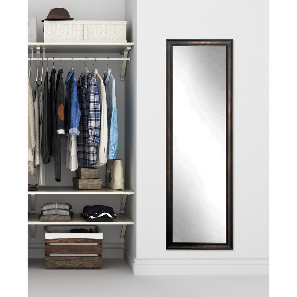 BrandtWorks Clouded Bronze Slim Wall Mirror BM13THIN-L3