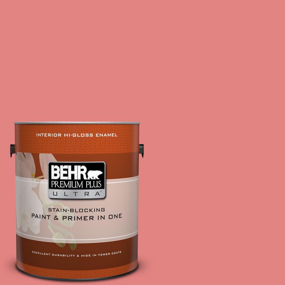 1 gal. #160B-5 Candy Mix Hi-Gloss Enamel Interior Paint