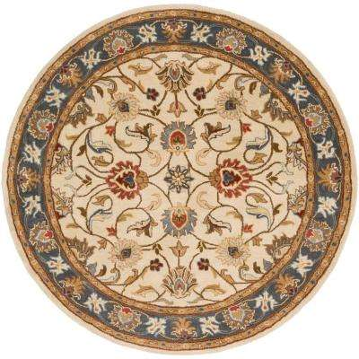 John Gold 8 ft. x 8 ft. Round Area Rug