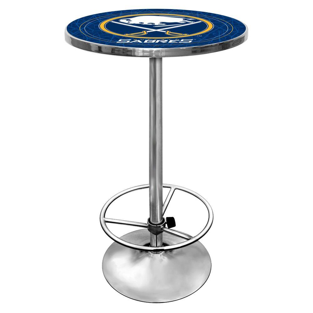 Trademark NHL Buffalo Sabres 42 in. H Pub Table