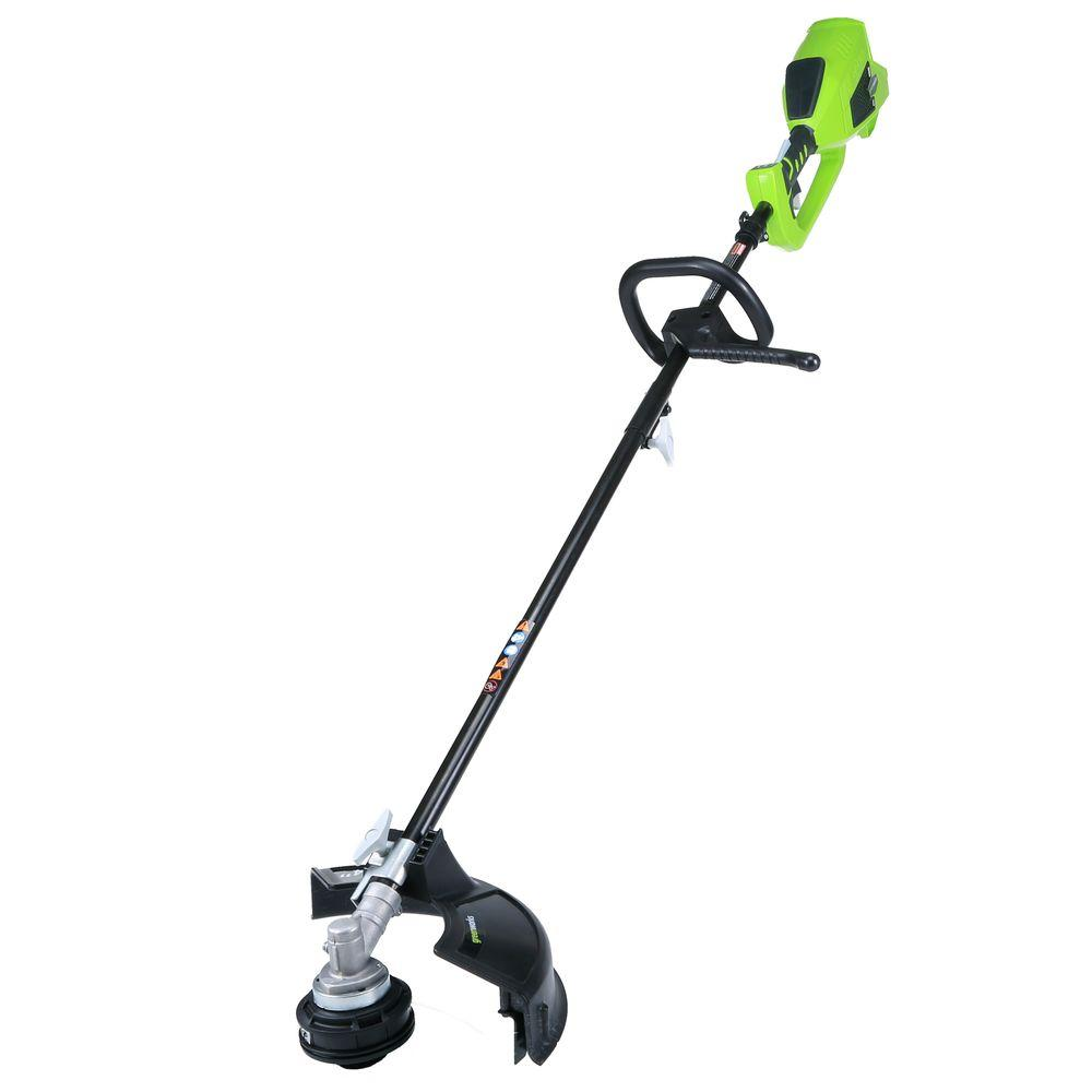 G-MAX 40-Volt Electric Cordless DigiPro Lithium-Ion String Trimmer - Battery and