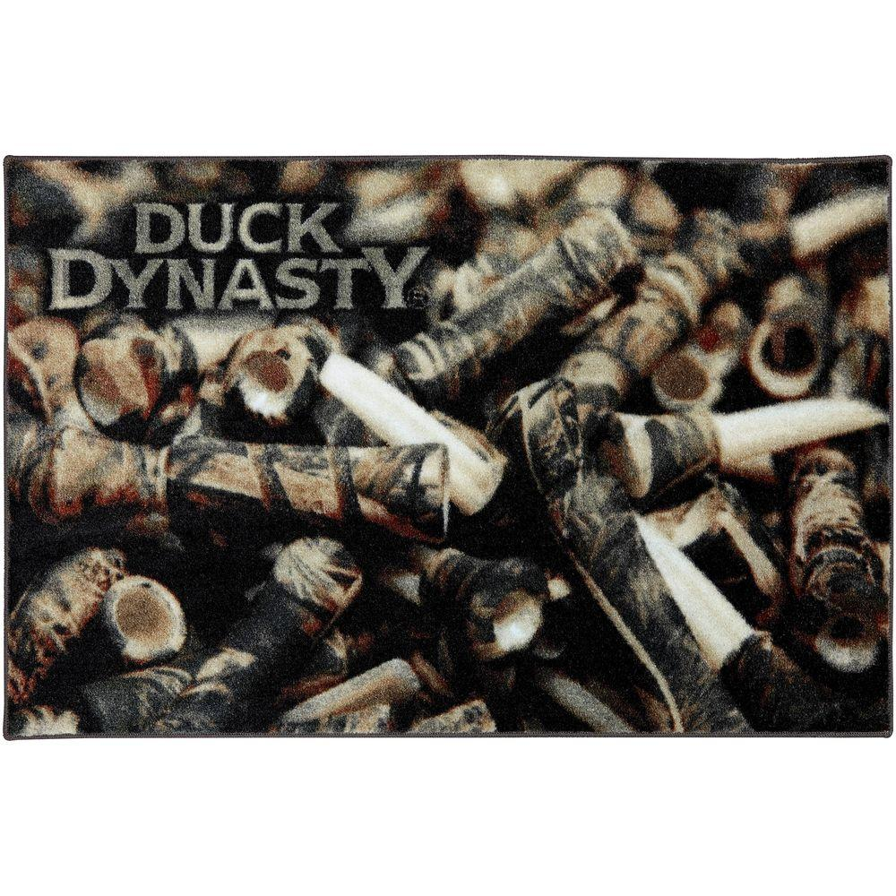 Mohawk Home Duck Dynasty Camo Calls 30 in. x 46 in. Accent Rug