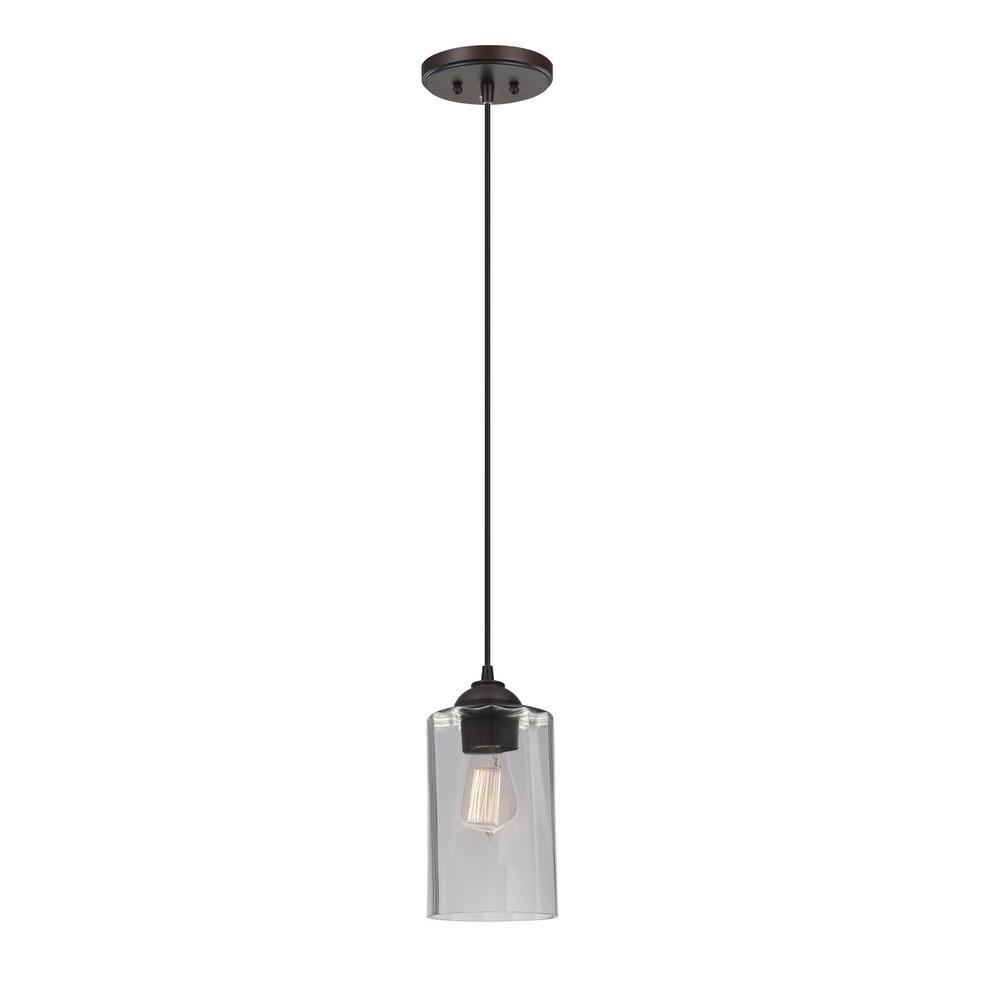 Monteaux lighting 1 light bronze and cut glass mini pendant monteaux lighting 1 light bronze and cut glass mini pendant aloadofball Image collections