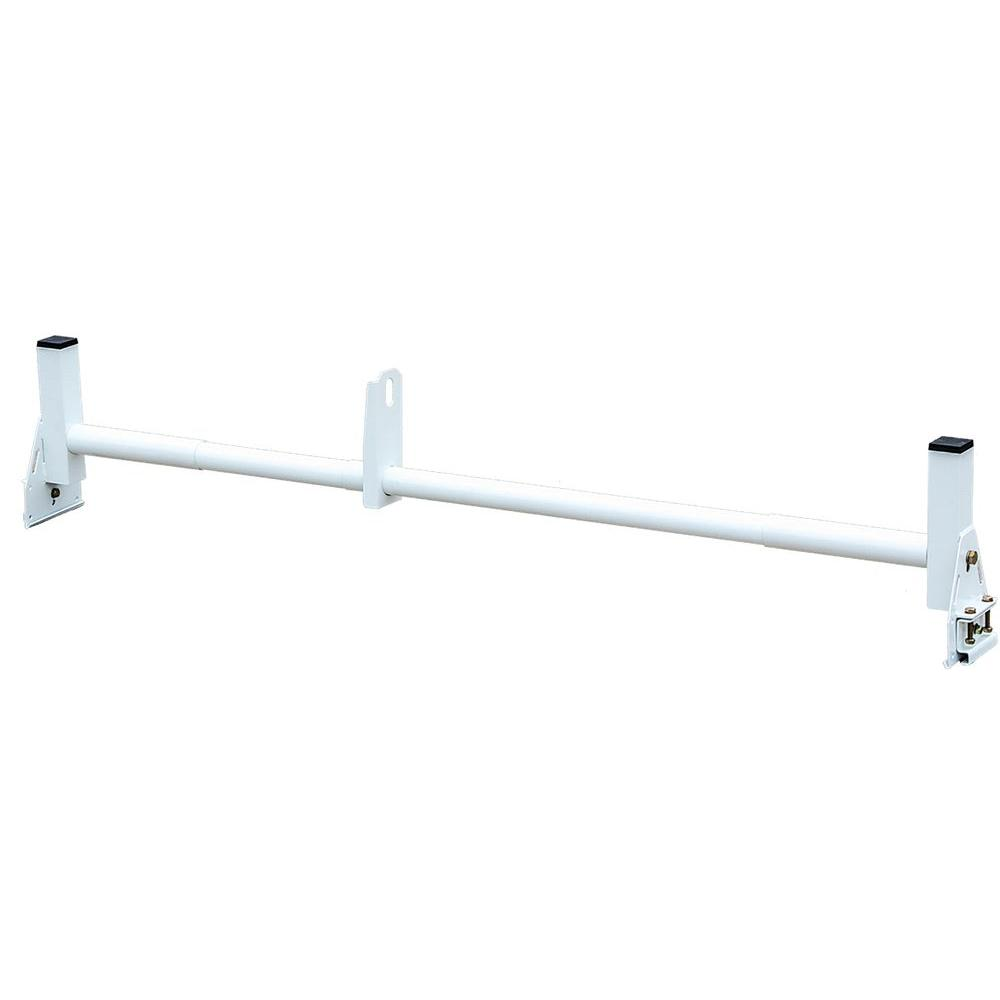 Buyers Products Company Additional White Crossbar for Heavy Duty Van Ladder Rack