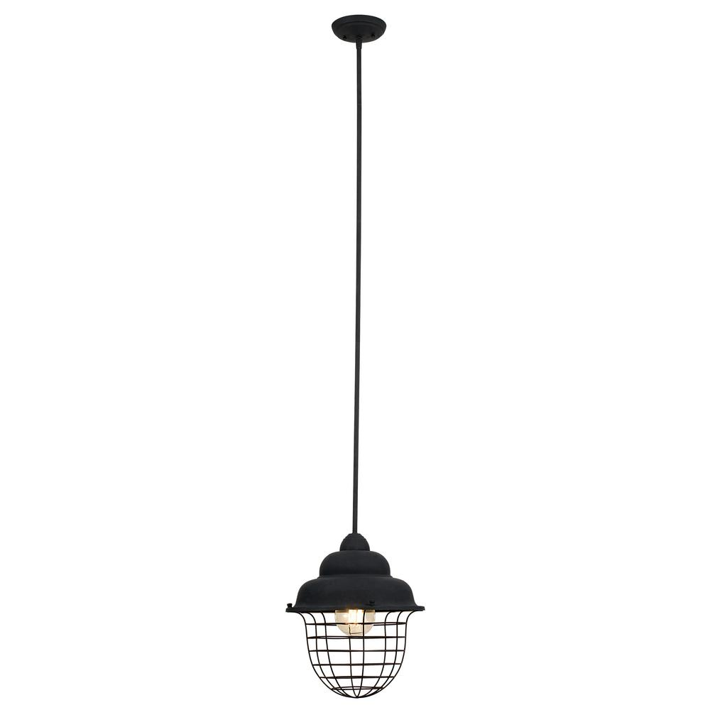Tenaya 1-Light Dark Bronze Pendant