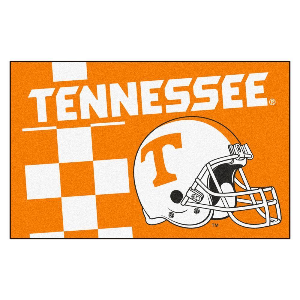 Fanmats Ncaa University Of Tennessee Orange 1 Ft 7 In X