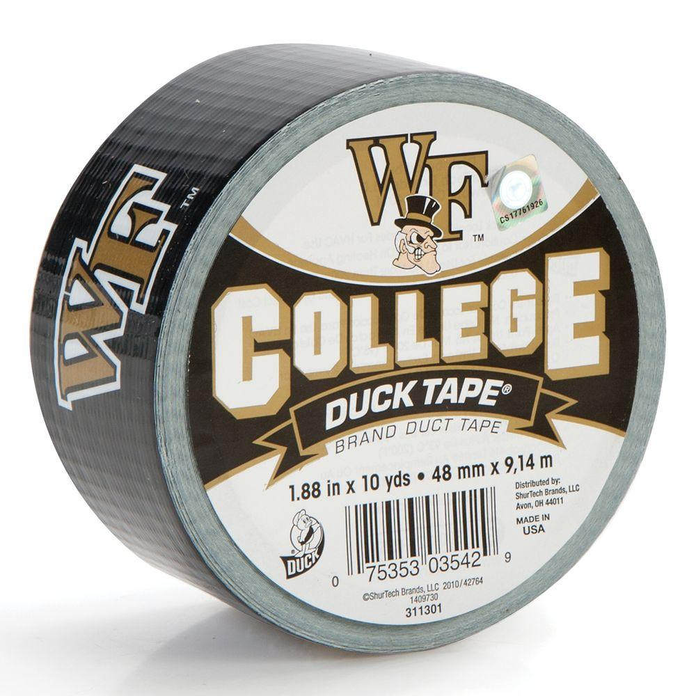 Duck College 1-7/8 in. x 30 ft. Wake Forest University Duct Tape (6-Pack)