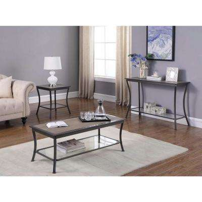Cape Side Graphite Gray End Table
