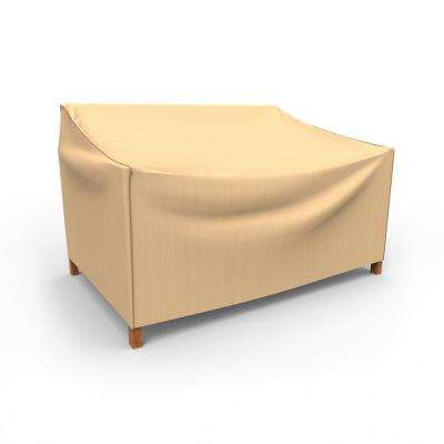 Rust-Oleum NeverWet Small Tan Outdoor Patio Loveseat Cover