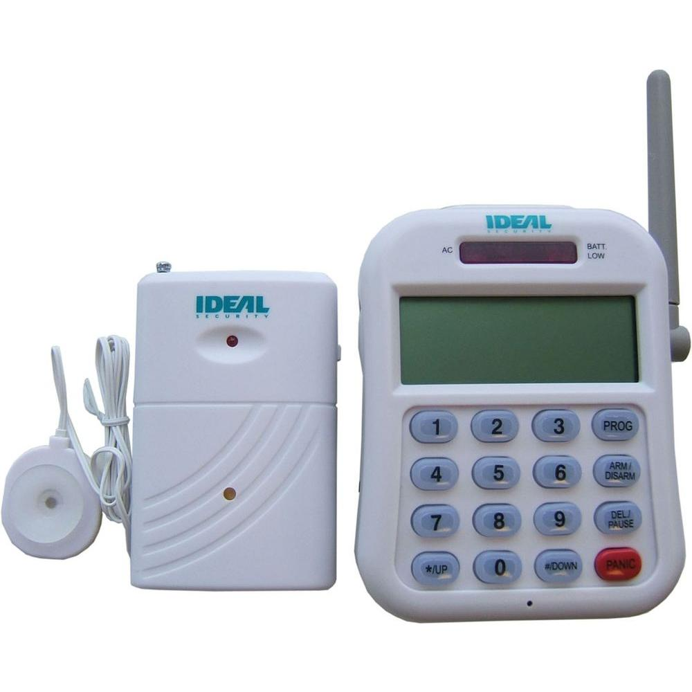 IDEAL Security Wireless Water and Flood Detector with Telephone Dialer