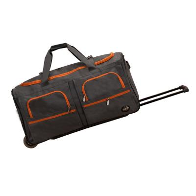 Rockland Voyage 30 in. Rolling Duffle Bag, Charcoal