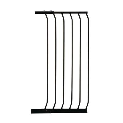17.5 in. Gate Extension for Black Chelsea Extra Tall Child Safety Gate