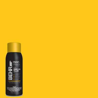 12 oz. #P300-7 Unmellow Yellow Gloss Interior/Exterior Spray Paint and Primer in One Aerosol