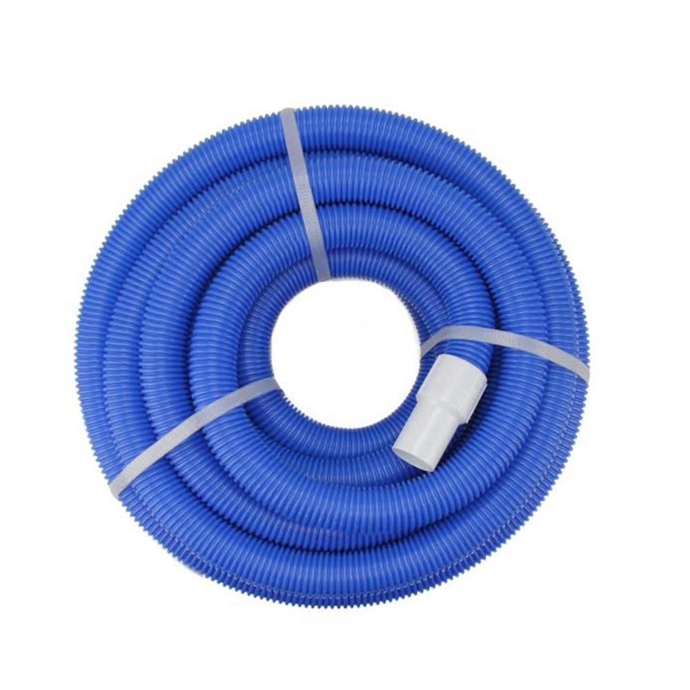 Northlight 50 ft. x 1.5 in. Blow-Molded PE In-Ground Swimming Pool Vacuum  Hose with Swivel Cuff