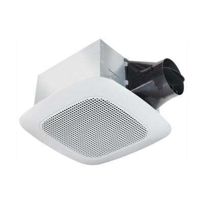 Signature Series 110 CFM Ceiling Bathroom Exhaust Fan with Bluetooth Speaker, ENERGY STAR