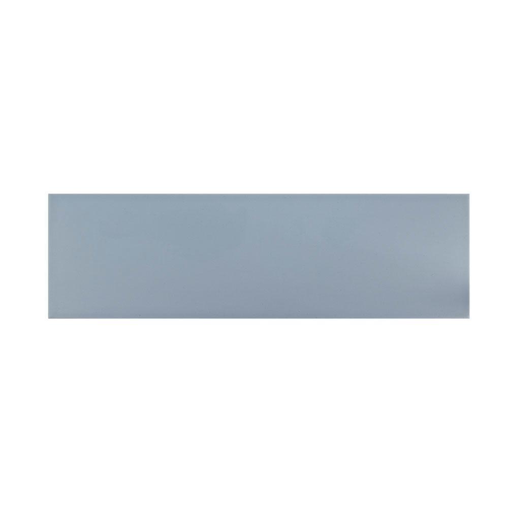 Jeffrey Court Slate Blue 6 in. x 20 in. Ceramic Wall Tile (10.76 sq. ft. / case)