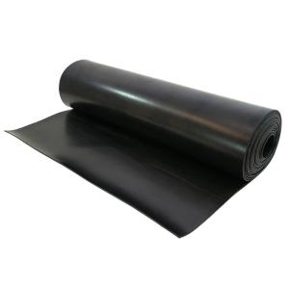 UDP 1/16 T x 12 inch W x 33 ft. Black Neoprene Gasket Material Spool by UDP