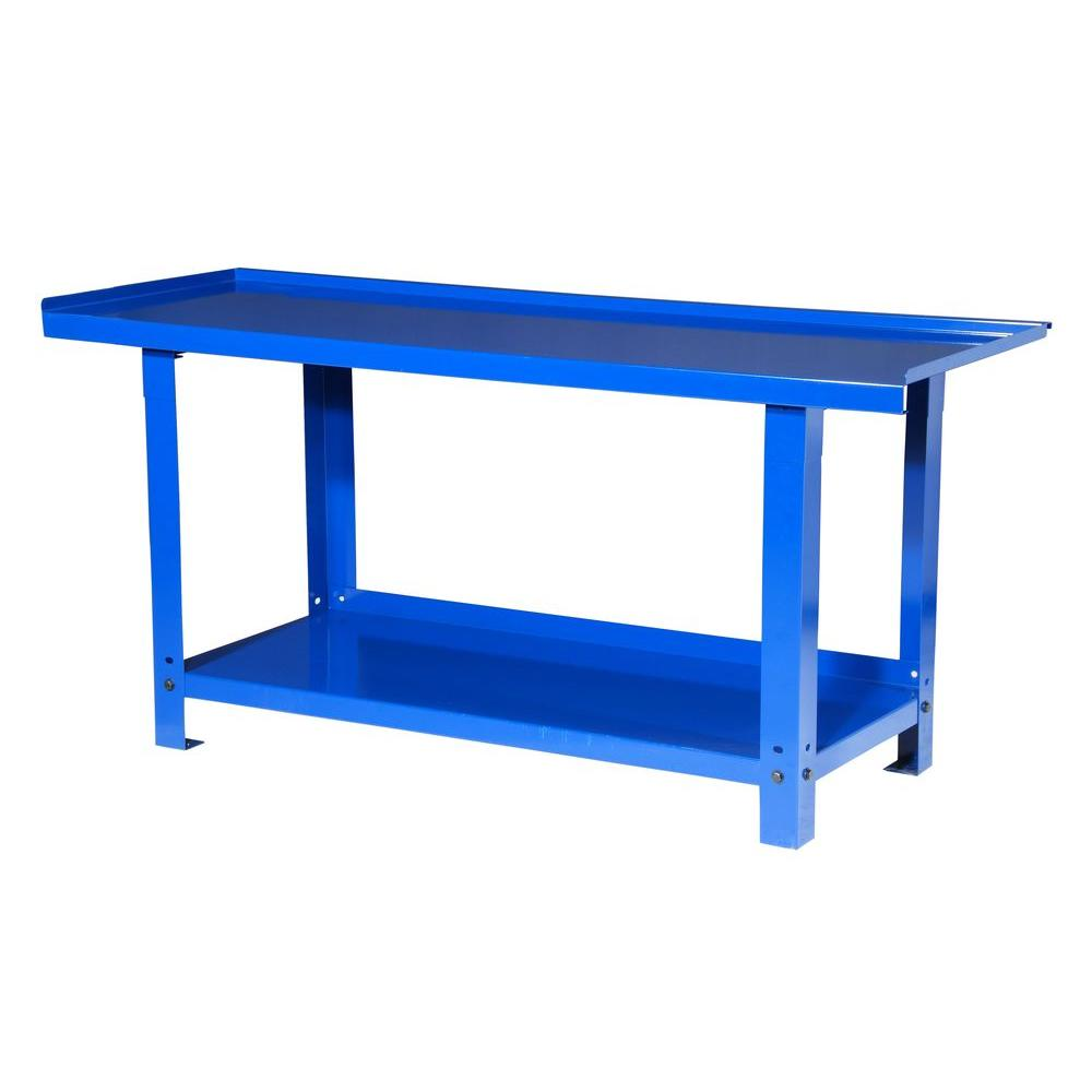 72 in. Heavy Duty Workbench, Blue