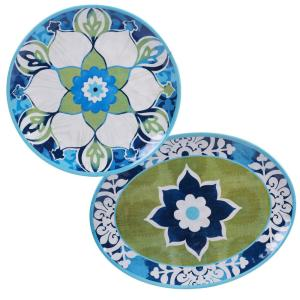 Certified International 2-Piece Barclona Platter Set by Certified International