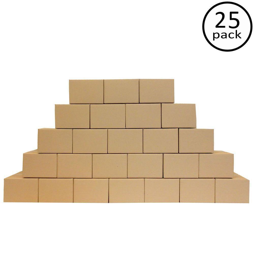12 in. x 12 in. x 8 in. 25-Box Bundle