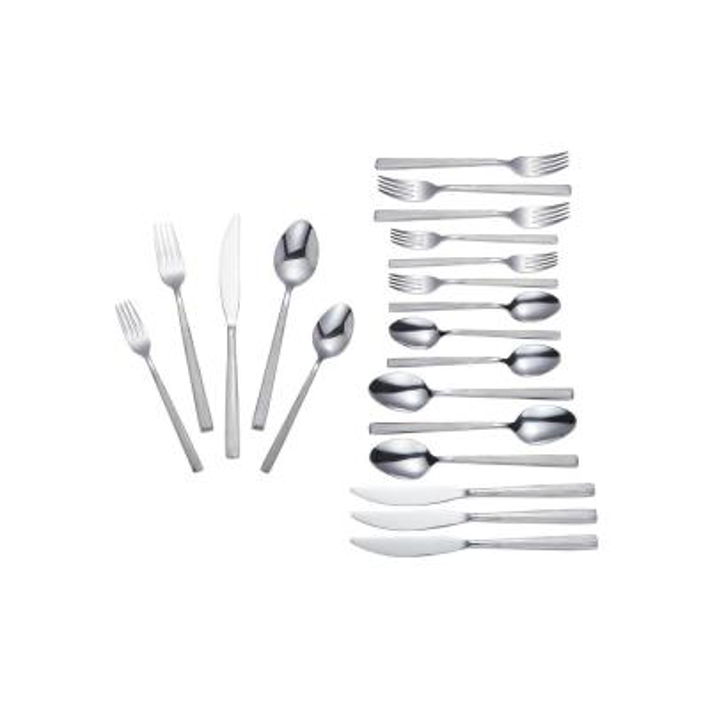 Truett 20-Piece Stainless Steel Flatware Set (Service for 4)