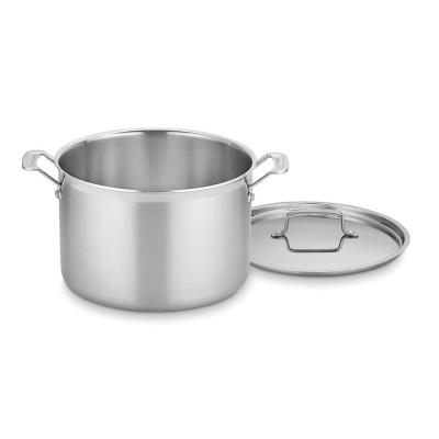 MultiClad Pro 12 qt. Stainless Steel Stock Pot with Lid