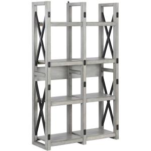 Ameriwood home forest grove rustic white bookcase room for Forest grove plumbing