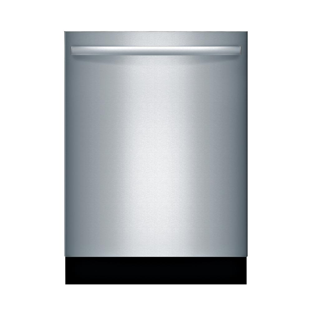 Bosch 800 Series 24 in. ADA Top Control Tall Tub Dishwasher in Stainless Steel (Silver) with Stainless Steel Tub and 3rd Rack, 44dBA Our 24 in. ADA-compliant dishwashers are uniquely designed for customers with special height requirements and feature sophisticated technologies for quiet operation, outstanding performance and remarkable flexibility. Color: Stainless Steel.