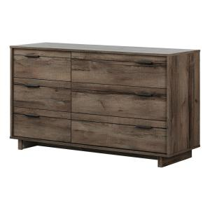 Fynn 6-Drawer Fall Oak Dresser