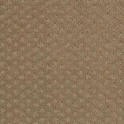 Carpet Sample - Lilypad - Color Woodland Pattern 8 in. x 8 in.