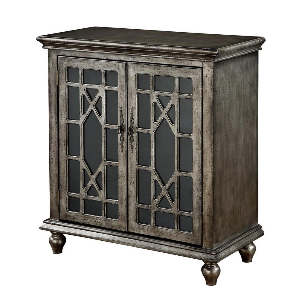 DeVille Texture Metallic 2-Door Cabinet