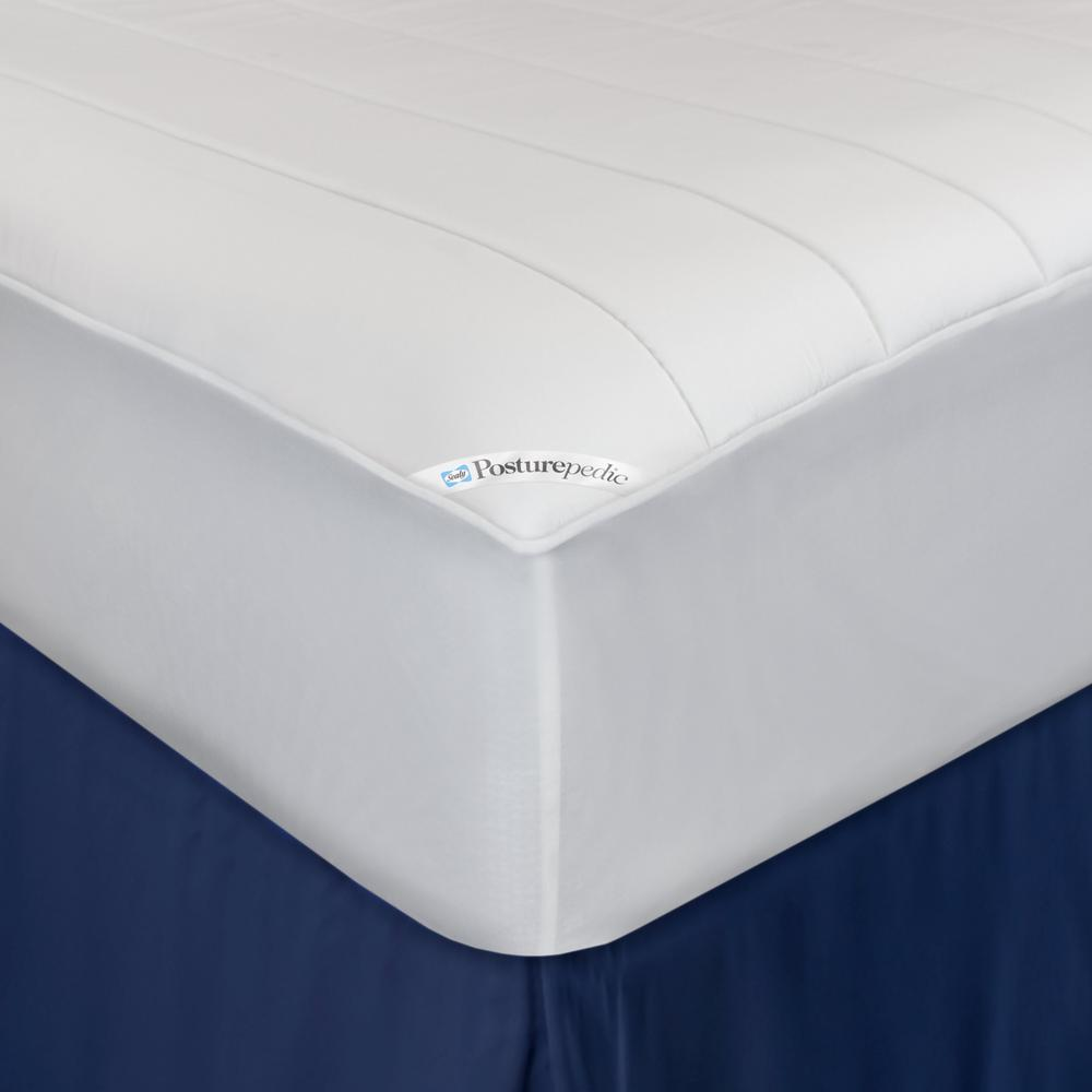 Sealy Memory Foam Washable Waterproof Fitted Mattress Pad 56168sly