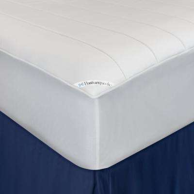 Memory Foam Washable Waterproof Fitted Mattress Pad