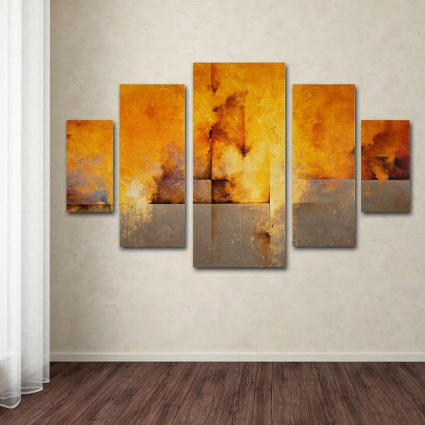 Trademark Fine Art Lost Passage by CH Studios 5-Panel Wall Art