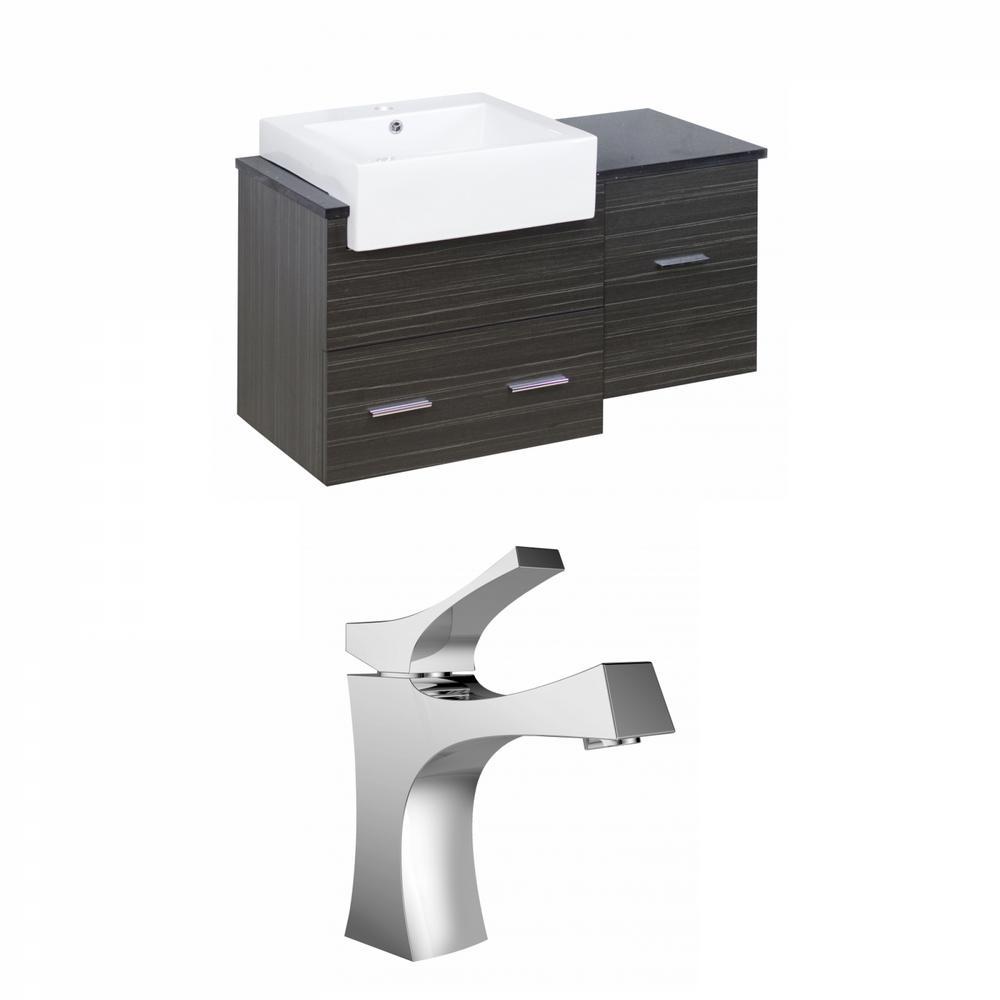 16-Gauge-Sinks 36.75 in. W x 19 in. D Bath Vanity in Dawn ...