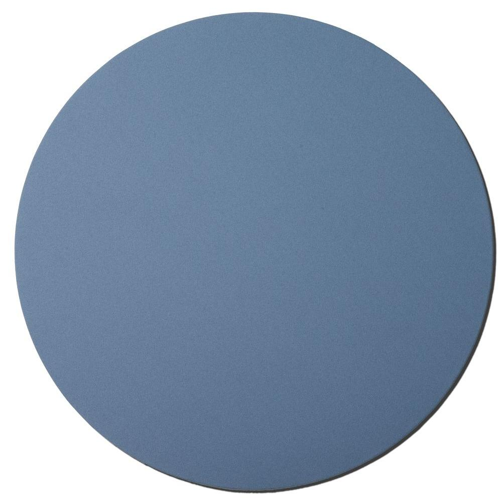 Owens Corning 36 in. Blue Circle Acoustic Sound Absorbing Wall Panels (2-Pack)