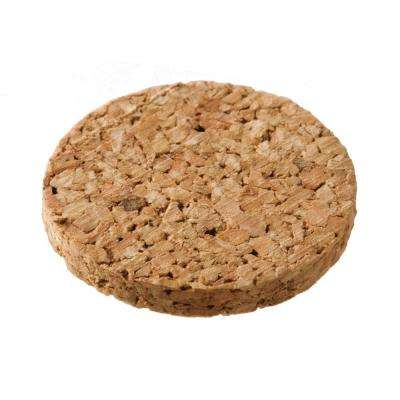 1/2 in. Cork Cupboard Door Discs (24-Pieces)