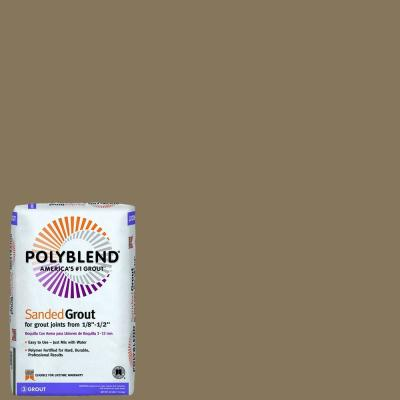 Polyblend #105 Earth 25 lb. Sanded Grout