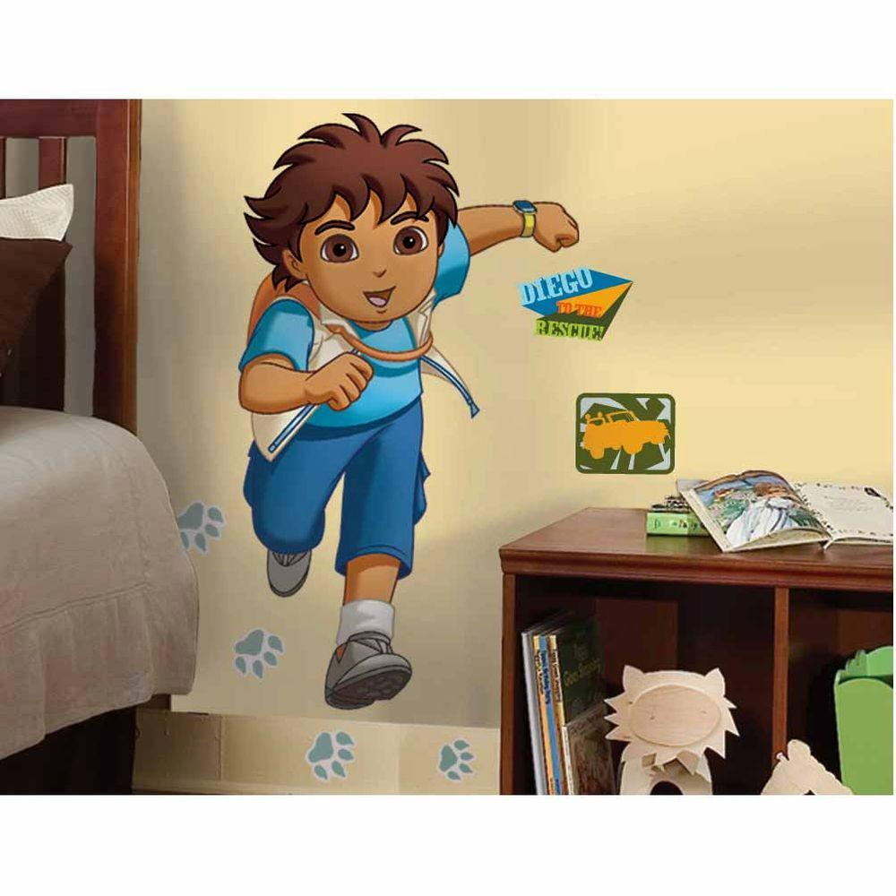 RoomMates Diego Peel and Stick Giant Wall Decals-RMK1401GM - The ...