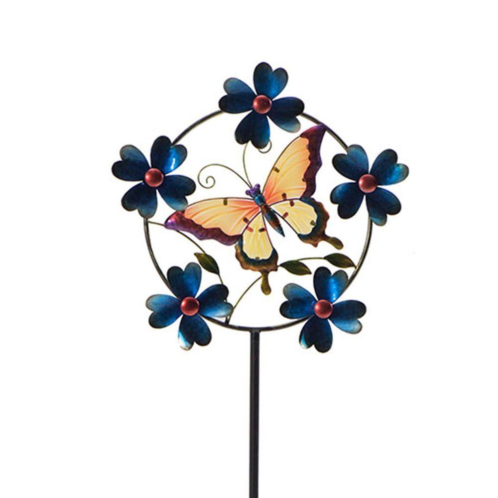 Sunjoy Butterfly Wind Catcher 110309040 The Home Depot