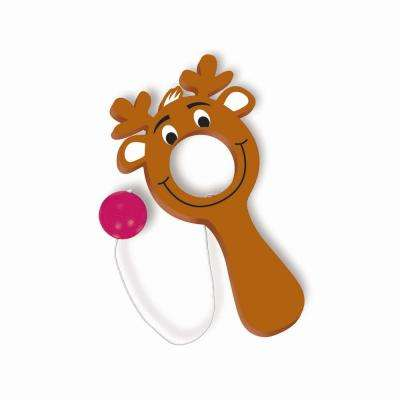 Reindeer Christmas Bulls Eye Game (12-Count 4-Pack)