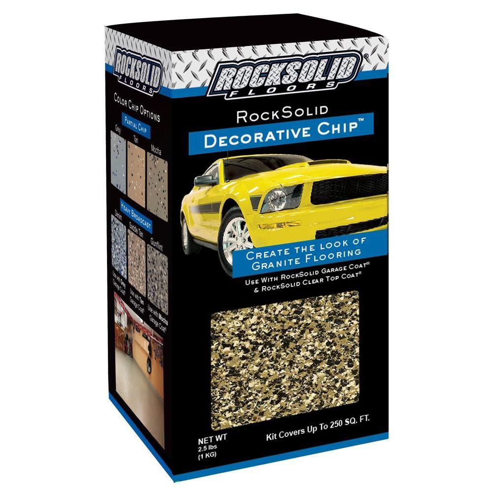 2.5 lbs. Gunflint Decorative Color Chips (4-Pack)